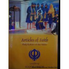 Articles of Faith - Panj Kakars of the Sikhs