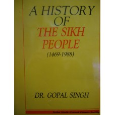A History of the Sikh People (1469-1988)