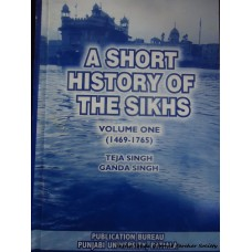 A Short History of the Sikhs (1469-1765)
