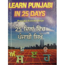 Learn Punjabi in 25 days
